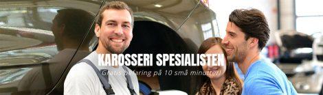 Spesialister på biloppretting